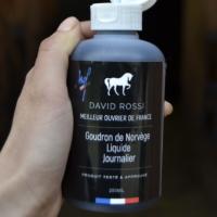 Goudron de norvège liquide journalier David Rossi