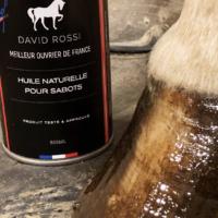 Huile naturelle pour sabots David Rossi